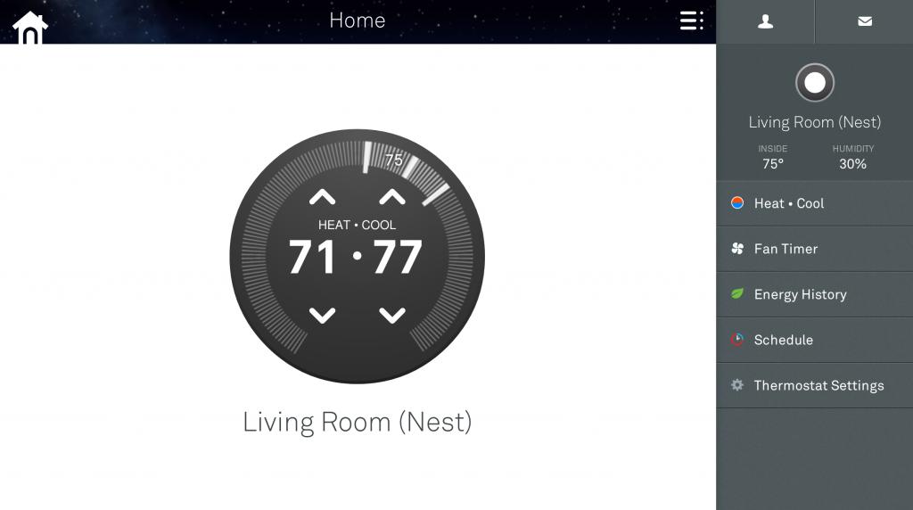 Nest Web UI